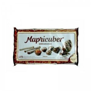 Chocolate semiamargo Mapricuber tableta en Mendoza.