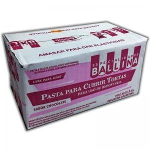 Pasta para cubrir por 3kg chocolate en Mendoza.