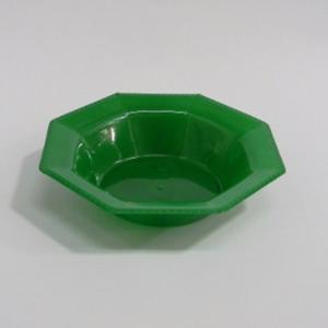 Bowl octogonal verde por 10u.