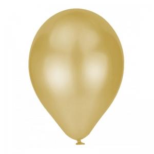 Globo perlado dorado