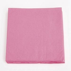 Servilletas rosadas 33cm². por 40u.