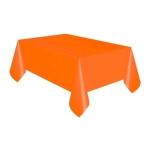 Mantel naranja descartable en Mendoza