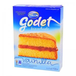Godet Bizcochuelo Vainilla Por 480Gr.