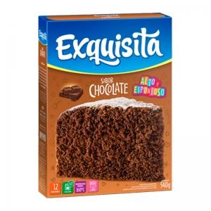 Bizcochuelo Exquisita chocolate por 540 gr. en Mendoza.