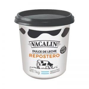 Dulce de leche repostero Vacalín Por 1 Kg. en Mendoza.