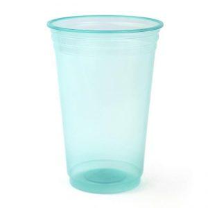cotillón fiesta, descartables en mendoza, descartables para fiestas, ofertas en mendoza, vasos descartables, Vasos neón verde